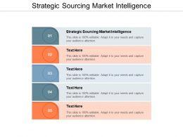 Strategic Sourcing Market Intelligence Ppt Powerpoint Presentation Portfolio Template Cpb