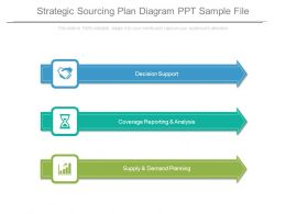 Strategic Sourcing Plan Diagram Ppt Sample File