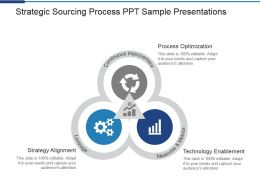 Strategic Sourcing Process Ppt Sample Presentations
