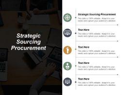 Strategic Sourcing Procurement Ppt Powerpoint Presentation Portfolio Design Templates Cpb
