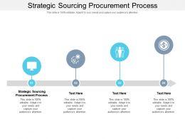 Strategic Sourcing Procurement Process Ppt Powerpoint Presentation Ideas Inspiration Cpb