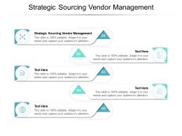 Strategic Sourcing Vendor Management Ppt Powerpoint Presentation Microsoft Cpb