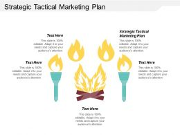 Strategic Tactical Marketing Plan Ppt Powerpoint Presentation Gallery Skills Cpb