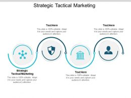 Strategic Tactical Marketing Ppt Powerpoint Presentation Gallery Vector Cpb