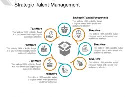 Strategic Talent Management Ppt Powerpoint Presentation Ideas Show Cpb
