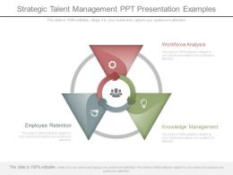 Strategic Talent Management Ppt Presentation Examples