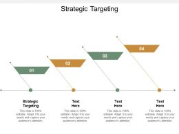 Strategic Targeting Ppt Powerpoint Presentation Gallery Cpb