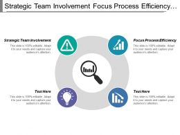 Strategic Team Involvement Focus Process Efficiency Process Optimizer