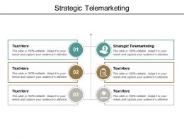Strategic Telemarketing Ppt Powerpoint Presentation Model Graphics Download Cpb