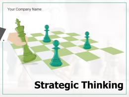 Strategic Thinking Analysis Innovative Decisions Model Entrepreneurs Essential Elements