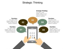 Strategic Thinking Ppt Powerpoint Presentation Layouts Master Slide Cpb