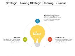 Strategic Thinking Strategic Planning Business Finance Human Resource Executives Cpb
