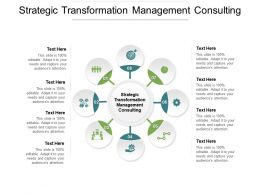 Strategic Transformation Management Consulting Ppt Powerpoint Presentation Layouts Structure Cpb