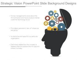 Strategic Vision Powerpoint Slide Background Designs