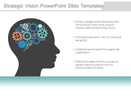 Strategic Vision Powerpoint Slide Templates
