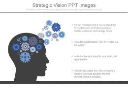 Strategic Vision Ppt Images