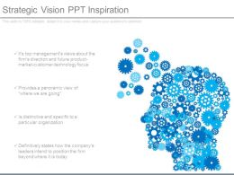 Strategic Vision Ppt Inspiration