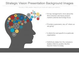 Strategic Vision Presentation Background Images