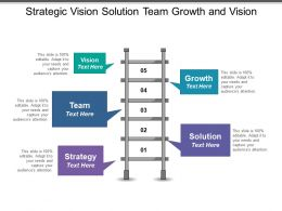 Strategic Vision Solution Team Growth And Vision