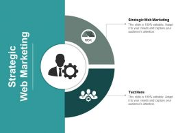 Strategic Web Marketing Ppt Powerpoint Presentation Portfolio Maker Cpb