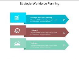 Strategic Workforce Planning Ppt Powerpoint Presentation Icon Shapes Cpb