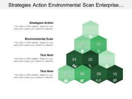 Strategies Action Environmental Scan Enterprise Portals Servers Storage