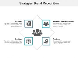 Strategies Brand Recognition Ppt Powerpoint Presentation Professional Deck Cpb