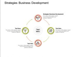 Strategies Business Development Ppt Powerpoint Presentation Layouts Visual Aids Cpb