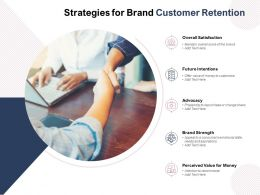 Strategies For Brand Customer Retention