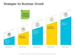 Strategies For Business Growth Company Management Ppt Background
