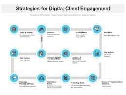 Strategies For Digital Client Engagement