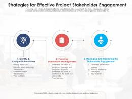 Strategies For Effective Project Stakeholder Engagement