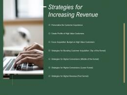 Strategies For Increasing Revenue How To Drive Revenue With Customer Journey Analytics Ppt Grid