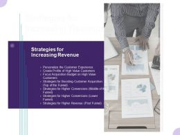 Strategies For Increasing Revenue Ppt Powerpoint Presentation Infographics Background Image