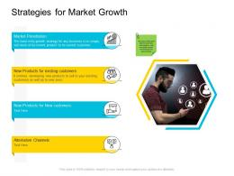 Strategies For Market Growth Company Management Ppt Slides