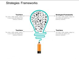 Strategies Frameworks Ppt Powerpoint Presentation Gallery Infographics Cpb