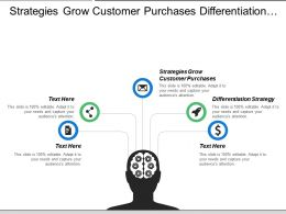 Strategies Grow Customer Purchases Differentiation Strategy Narrow Market Scope