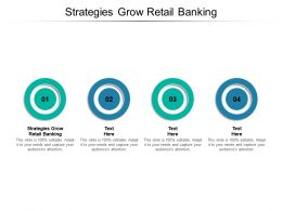 Strategies Grow Retail Banking Ppt Powerpoint Presentation Slides Portrait Cpb