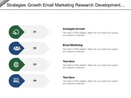 Strategies Growth Email Marketing Research Development Department Marketing Sales