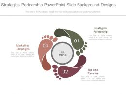 Strategies Partnership Powerpoint Slide Background Designs