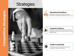 Strategies Ppt Powerpoint Presentation Gallery Portfolio