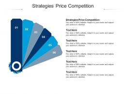 Strategies Price Competition Ppt Powerpoint Presentation Slides Graphics Design Cpb