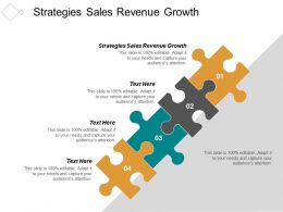 Strategies Sales Revenue Growth Ppt Powerpoint Presentation Inspiration Graphic Images Cpb
