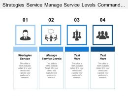 Strategies Service Manage Service Levels Command Control Operations
