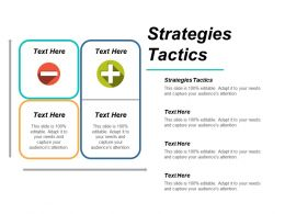 Strategies Tactics Ppt Powerpoint Presentation Icon Grid Cpb