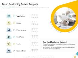 Strategies To Make Your Brand Unforgettable Brand Positioning Canvas Template Ppt Summary Grid