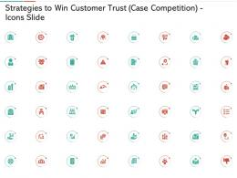 Strategies To Win Customer Trust Case Competition Icons Slide Ppt Background