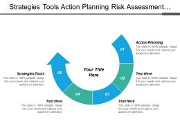 Strategies Tools Action Planning Risk Assessment Matrix Project Management Cpb