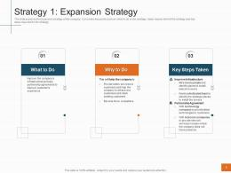 Strategy 1 Expansion Strategy Sales Profitability Decrease Telecom Company Ppt Templates