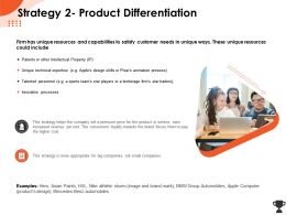 Strategy 2 Product Differentiation Star Traders Ppt Powerpoint Presentation File Guide